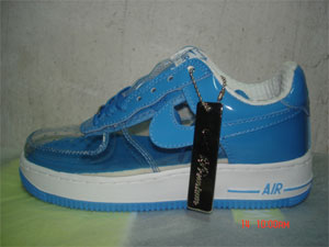 clear nike air force one shoes