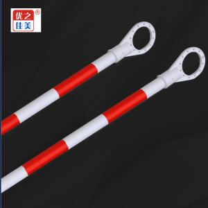 ZGYZJM High quality PVC Traffic safety supplies Red and White with Reflective Film Retractable cone bar