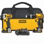 DeWalt DCK285C2 20V MAX Li-Ion Compact Hammerdrill